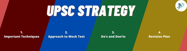 UPSC Strategy