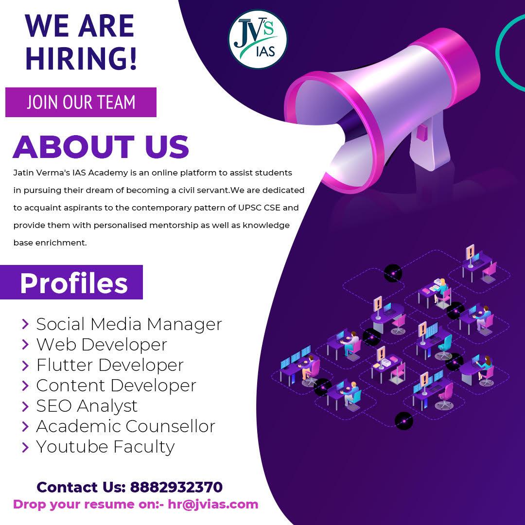 Jatin Verma's Career Page