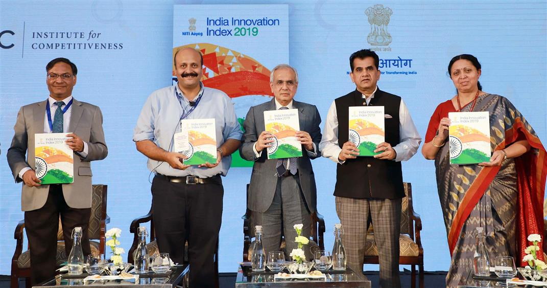 india-innovation-index-2019-launched-by-niti-aayog