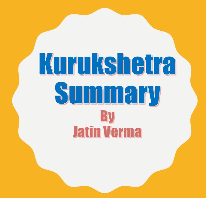 download-summary-of-kurukshetra-by-jatin-vermas-ias-november