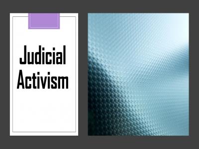 judicial-activism-has-been-defined-as-an-innovative-interpretation