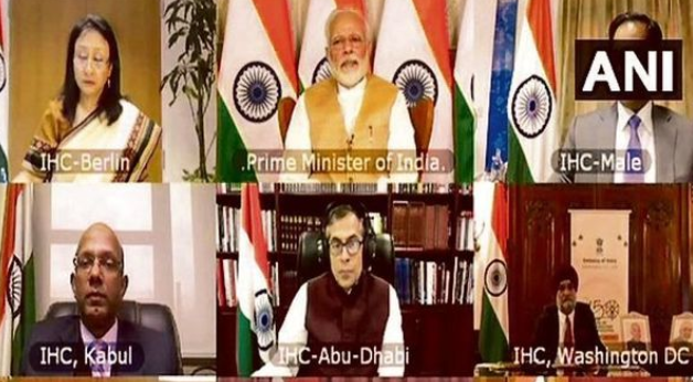 pm-mobilizes-indian-envoys-in-war-on-covid-19-summary