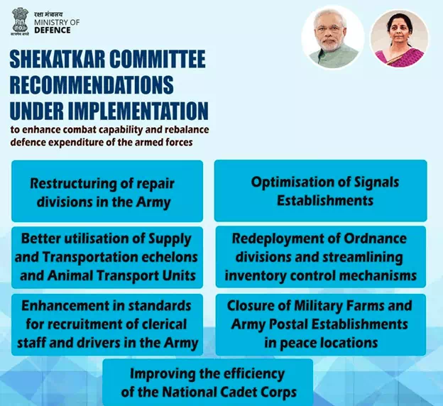 shekatkar-committee-recommendations-related-to-creating-border-infrastructure-summary