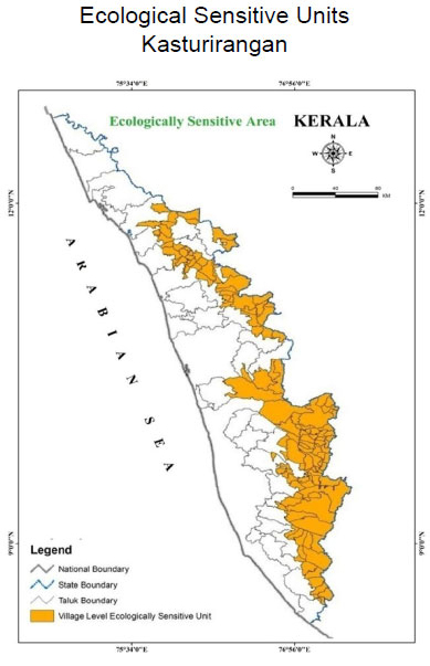 ecologically-sensitive-area-of-western-ghats-summary