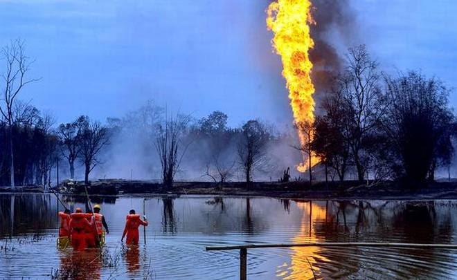 assessment-of-oil-well-blowout-impact-on-environment-summary
