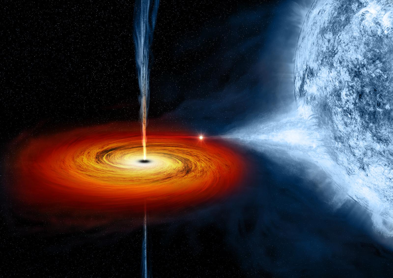 study-of-optical-properties-of-super-massive-black-hole
