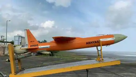 drdo-conducts-second-successful-flight-test-of-missile-target-vehicle-abhyas