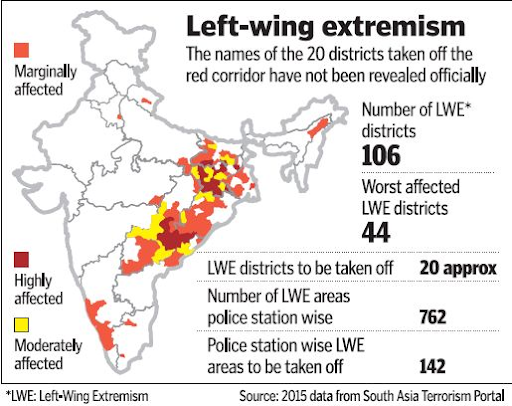 maoist-influence-down-to-just-41-districts-centre