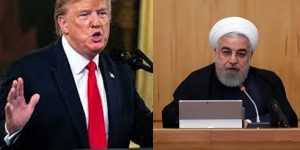 Trump says no to military strike on Iran