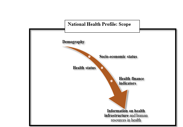 National health profile: scope